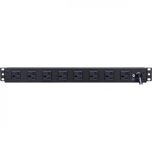 CyberPower Metered PDU20M2F8R 10 Outlets PDU Rear/500