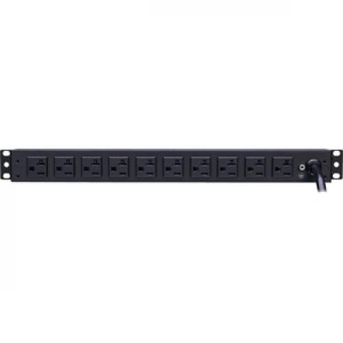 CyberPower Metered PDU20M2F10R 12 Outlets PDU Rear/500