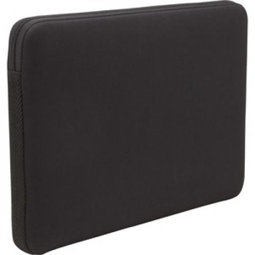 "Case Logic LAPS 117 Carrying Case (Sleeve) For 17.3"" Notebook   Black Rear/500"