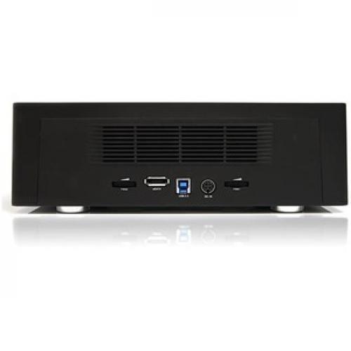 StarTech.com 4 Bay USB 3.0 ESATA To SATA Standalone 1:3 HDD Hard Drive Duplicator Dock Rear/500