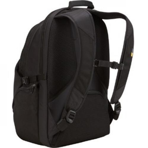 """Case Logic RBP 117 Carrying Case (Backpack) For 17.3"""" Notebook   Black Rear/500"""