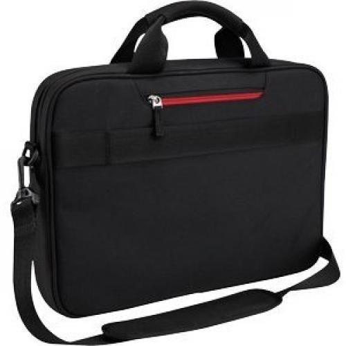 "Case Logic DLC 117BLACK Carrying Case (Messenger) For 10.1"" To 17.3"" Notebook   Black Rear/500"