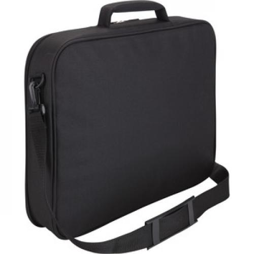 "Case Logic VNCI 215 Carrying Case (Briefcase) For 15"" To 16"" Notebook   Black Rear/500"