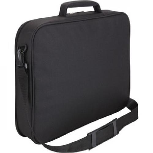 """Case Logic VNCI 217 Carrying Case (Briefcase) For 17"""" To 17.3"""" Notebook   Black Rear/500"""