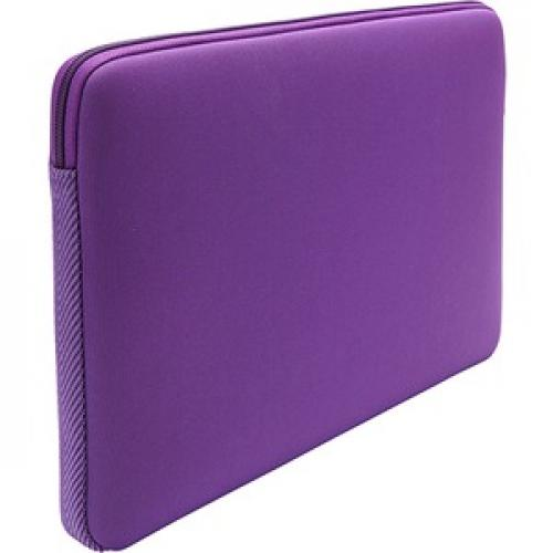 "Case Logic LAPS 113 Carrying Case (Sleeve) For 13"" To 13.3"" MacBook   Purple Rear/500"