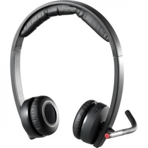 Logitech Wireless Headset H820e Rear/500