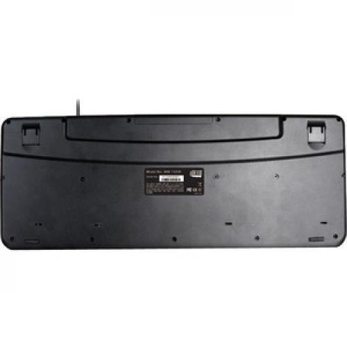 Adesso AKB 132   Spill Resistant Multimedia Desktop Keyboard (USB) Rear/500