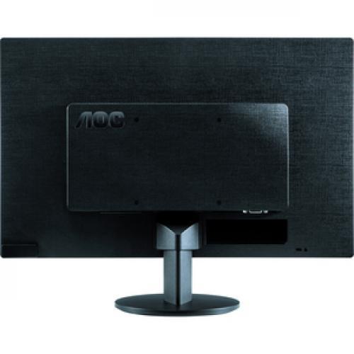"""AOC E970SWN 18.5"""" WXGA LED LCD Monitor   16:9   Black Rear/500"""