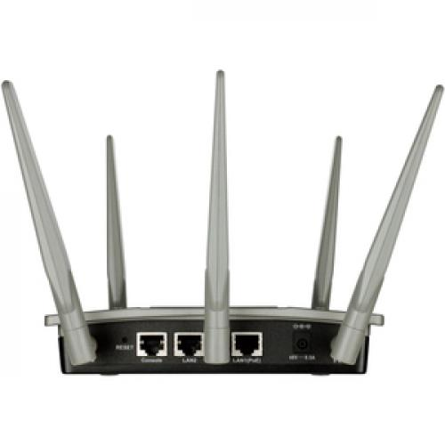 D Link AirPremier DAP 2695 IEEE 802.11ac 1.27 Gbit/s Wireless Access Point Rear/500