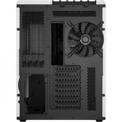 Corsair Carbide Series Air 540 Arctic White High Airflow ATX Cube Case Rear/500