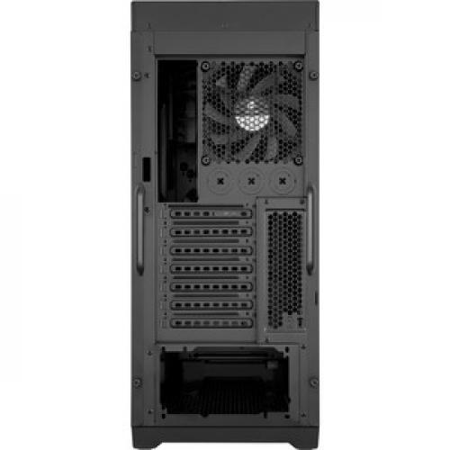 Corsair Obsidian Series 450D Mid Tower PC Case Rear/500