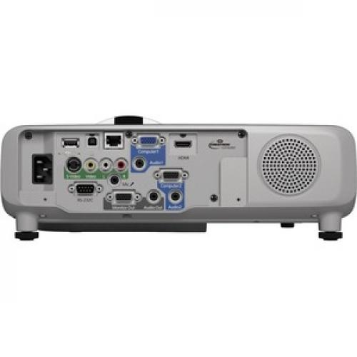 Epson PowerLite 520 Short Throw LCD Projector   4:3   White Rear/500