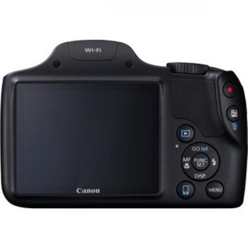 Canon PowerShot SX530 HS 16 Megapixel Compact Camera   Black Rear/500
