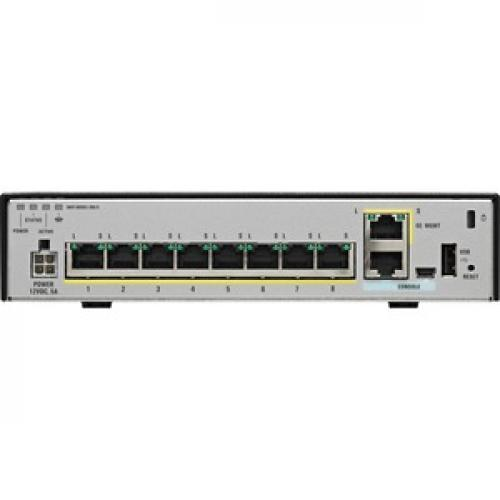 Cisco ASA 5506 X Network Security Firewall Appliance Rear/500