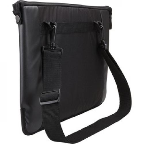 "Case Logic Intrata INT 114 Carrying Case (Attaché) For 14.1"" Notebook   Black Rear/500"