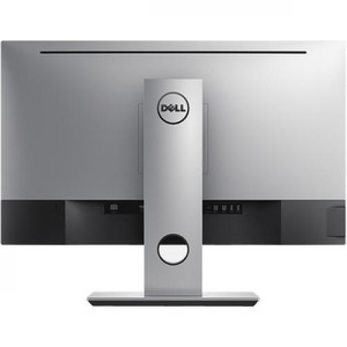 """Dell UltraSharp 27"""" Monitor Black & Silver     LED Back Lit   2560 X 1440 QHD Resolution   Includes PremierColor   Widescreen (16:9)   Compatible W/ All Operating Systems Rear/500"""
