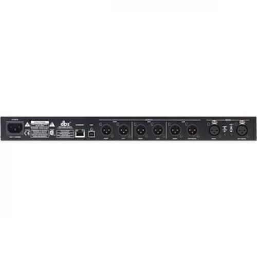 Dbx DriveRack Audio Processor Rear/500