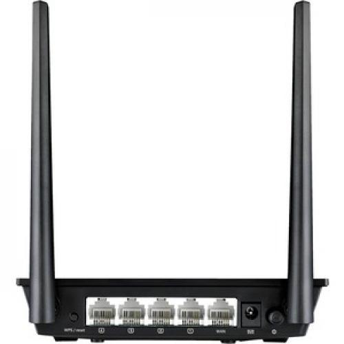 Asus RT N300 IEEE 802.11n Ethernet Wireless Router Rear/500