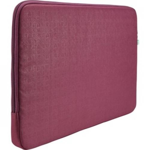 "Case Logic Ibira IBRS 115 Carrying Case (Sleeve) For 15.6"" Tablet   Purple Rear/500"