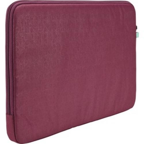 "Case Logic Ibira IBRS 113 Carrying Case (Sleeve) For 13.3"" Tablet   Purple Rear/500"
