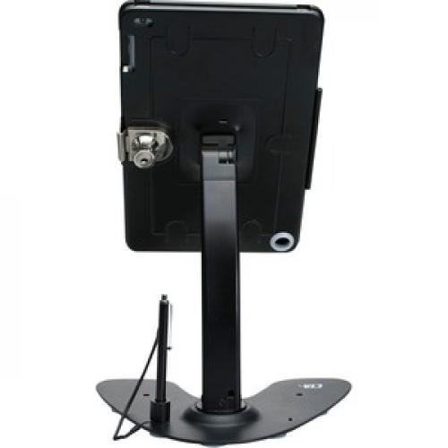 CTA Digital Dual Security Kiosk Stand Ipad And Ipad Air Black Rear/500