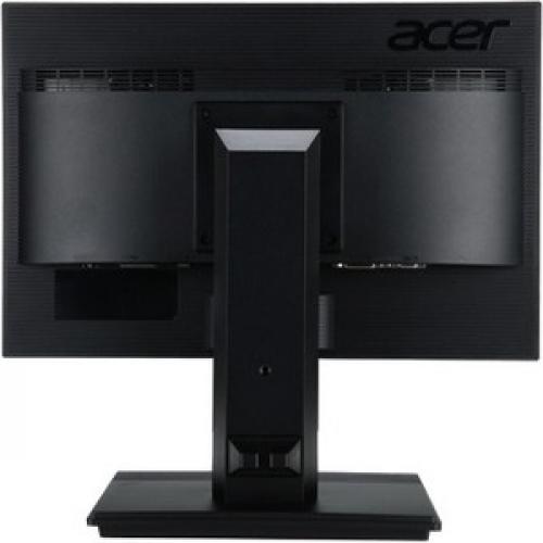 "Acer B196L 19"" LED LCD Monitor   5:4   6ms   Free 3 Year Warranty Rear/500"