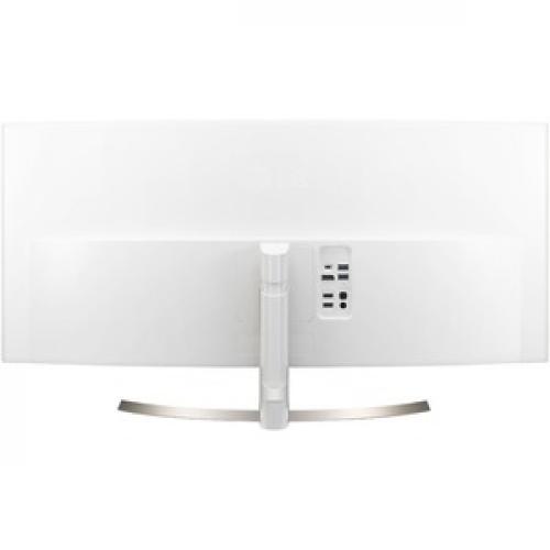 """LG Ultrawide 38UC99 W 37.5"""" WQHD+ Curved Screen LED LCD Monitor   21:9   Black Rear/500"""