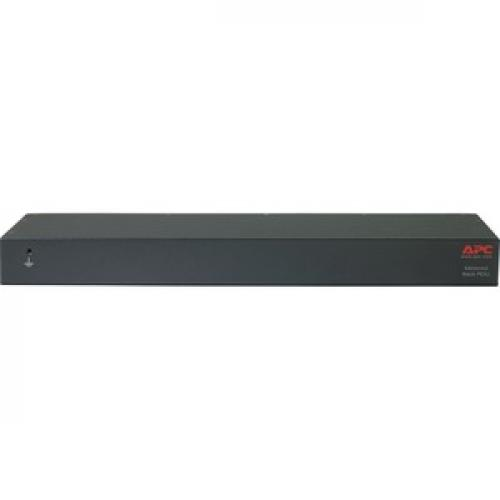 APC By Schneider Electric Rack PDU, Metered, 1U, 15A, 100/120V, (8) 5 15 Rear/500