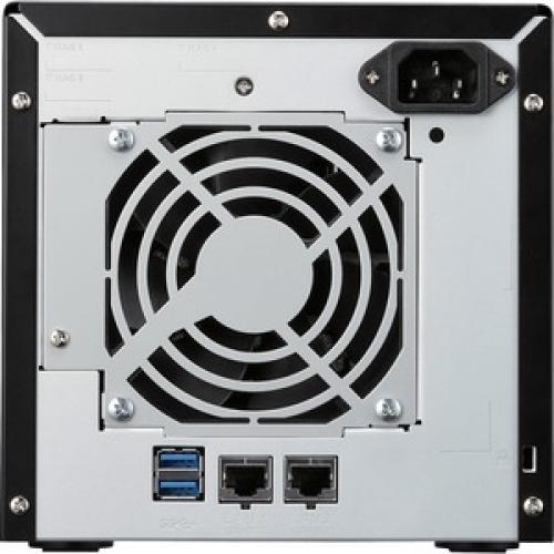 Buffalo TeraStation 3210DN Desktop 8 TB NAS Hard Drives Included Rear/500