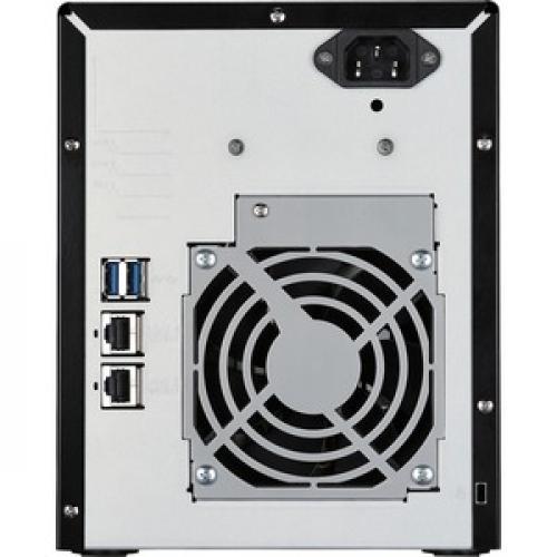 Buffalo TeraStation 3410DN Desktop 16 TB NAS Hard Drives Included Rear/500