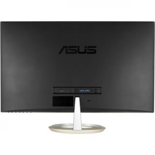 "Asus Designo MX27UC 27"" 4K UHD LED LCD Monitor   16:9   Icicle Gold, Black Rear/500"