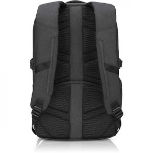 """Lenovo Passage Carrying Case (Backpack) For 17"""" Notebook   Charcoal Rear/500"""