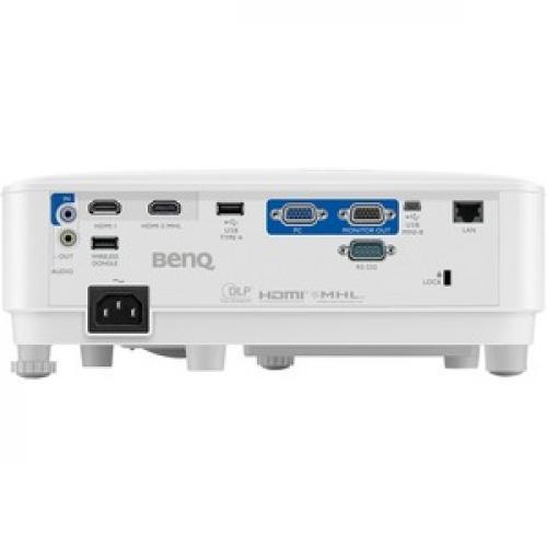 BenQ MH733 3D Ready DLP Projector   16:9 Rear/500