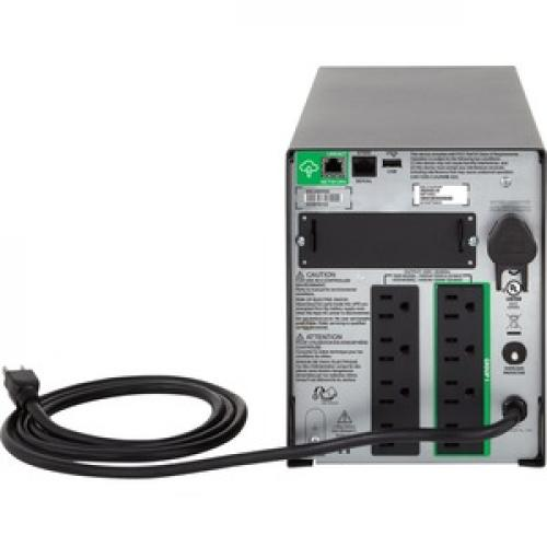 APC By Schneider Electric Smart UPS 1000VA LCD 120V With SmartConnect Rear/500