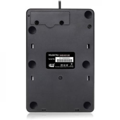 Adesso AKB 601UB   USB Spill Resistant 18 Key Numeric Keypad Rear/500