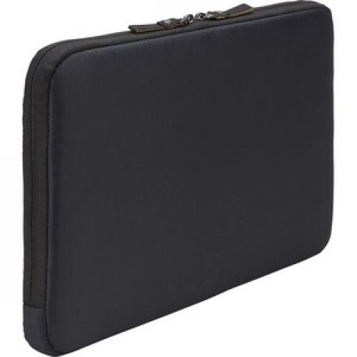 "Case Logic Deco 3203689 Carrying Case (Sleeve) For 13.3"" Notebook   Black Rear/500"