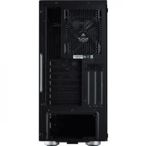 Corsair Carbide Series 275R Mid Tower Gaming Case   Black Rear/500
