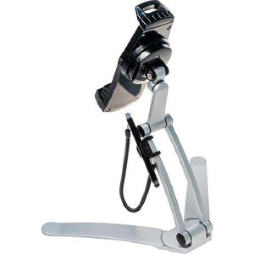 CTA Digital Multi Flex Tablet Stand + Mount???Black 360Deg Rotating Holder Rear/500