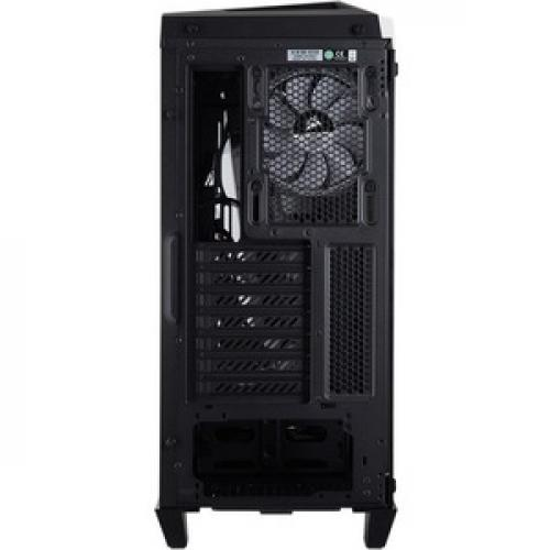 Corsair Carbide Series SPEC OMEGA RGB Mid Tower Tempered Glass Gaming Case   White Rear/500