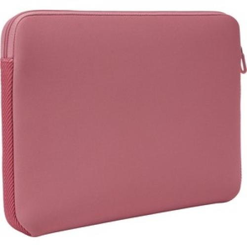 "Case Logic LAPS 113 HEATHER ROSE Carrying Case (Sleeve) For 13.3"" Apple Notebook, MacBook   Heather Rose Rear/500"