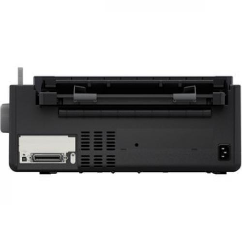 Epson LQ 590II 24 Pin Dot Matrix Printer   Monochrome   Energy Star Rear/500