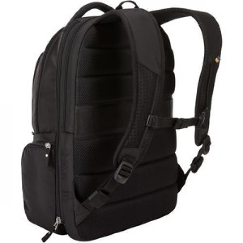 """Case Logic BEBP 315 BLACK Carrying Case (Backpack) For 15.6"""" Notebook   Black Rear/500"""