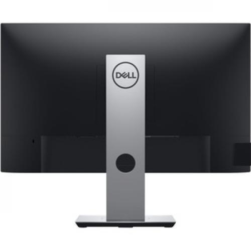 "Dell P  Series 23.8"" Monitor Black & Silver    LED Back Lit   1920 X 1080 Full HD Resolution   Flicker Free Screen W/ ComfortView   Widescreen (16:9)   Three Sided Ultrathin Bezel Design Rear/500"