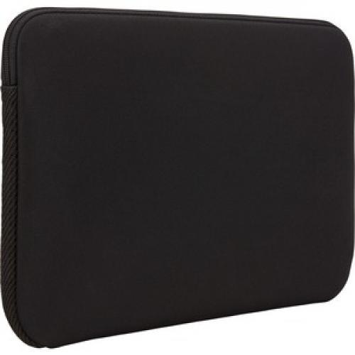 "Case Logic LAPS 213 BLACK Carrying Case (Sleeve) For 13.3"" Apple Notebook, MacBook Pro   Black Rear/500"
