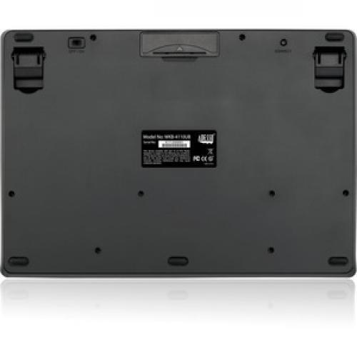 Adesso Wireless Mini Touchpad Keyboard Rear/500