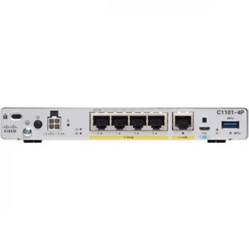 Cisco C1101 4P Router Rear/500