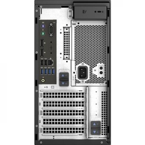 Dell Precision 3630 Workstation Intel Core I7 16GB RAM 1TB HDD 256GB SSD   8th Gen I7 8700K Hexa Core   NVIDIA Quadro P1000 4 GB Graphics   Intel Optane Memory Ready   Tower Form Factor   Windows 10 Pro Rear/500