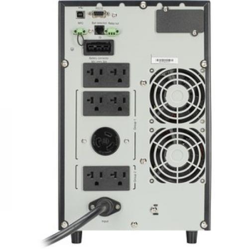 2000 VA Eaton 9SX 120V Tower UPS Rear/500
