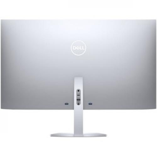 "Dell Ultra Thin S2719DC 27"" WQHD Edge WLED Gaming LCD Monitor   16:9   Silver, Black Rear/500"