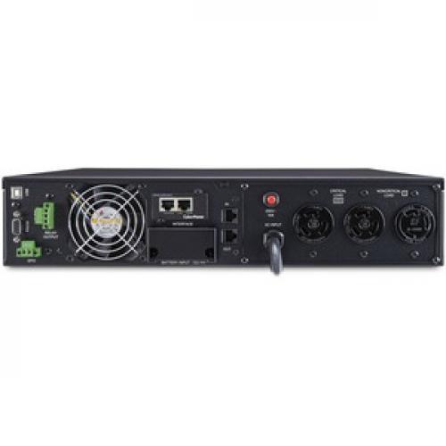 CyberPower UPS Systems OL3000RTXL2UHVN Smart App Online    Capacity: 3000 VA / 2700 W Rear/500